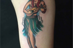 American-traditional-Sailor-Jerry-hula-girl