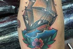 American-traditional-tattoo-of-ship